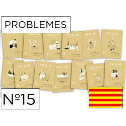 Cuaderno rubio problemes nº15 catalan