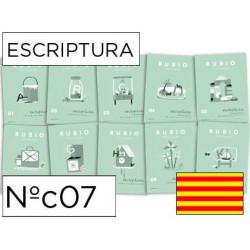 Cuaderno rubio escriptura nºc07 catalan