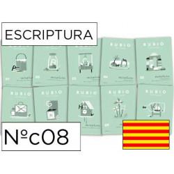 Cuaderno rubio escriptura nºc08 catalan