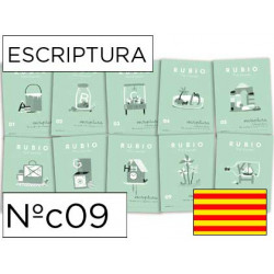 Cuaderno rubio escriptura nºc09 catalan