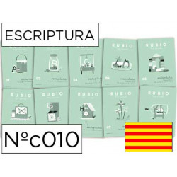 Cuaderno rubio escriptura nºc01 catalan