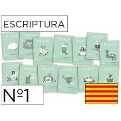Cuaderno rubio escriptura nº1 catalan