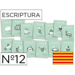 Cuaderno rubio escriptura nº12 catalan