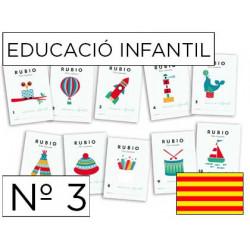 Cuaderno rubio educacion infantil nº3 catalan