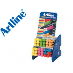 Set rotuladores artline fluorescente ek 660 expositor de 36 unidades surtid