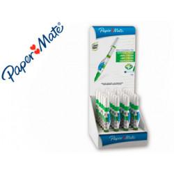 Corrector liquid paper lapiz paper mate 7 ml expositor de 24 unidades