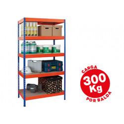 Estanteria metalica ar storage 192x100x50cm 5 estantes 300kg por estante ba