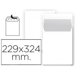 Sobre liderpapel bolsa n 8 blanco din 229x324 mm tira de silicona paquete d