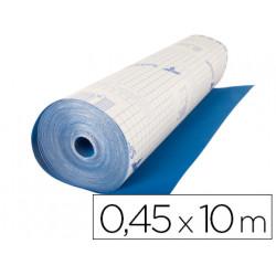 Rollo adhesivo especial ante color azul rollo de 10 mt