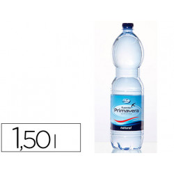 Agua mineral natural fuente primavera botella de 15l