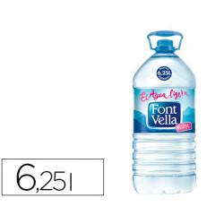 Agua mineral natural font vella sant hilari 625l