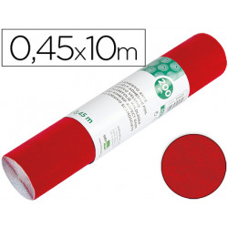 Rollo adhesivo liderpapel especial ante rojo rollo de 045 x 10 mt