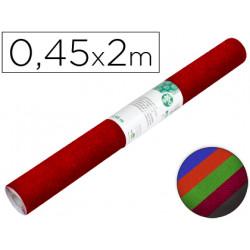 Rollo adhesivo liderpapel especial ante colores surtidos rollo de 045 x 2