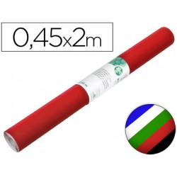 Rollo adhesivo liderpapel unicolor colores surtidos rollo de 045 x 2 mt