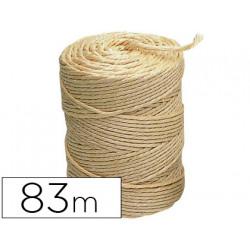 Cuerda sisal 3 cabos liderpapel rollo 1/2 kg