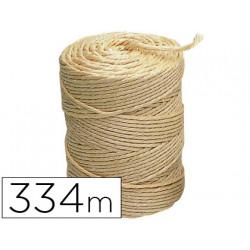 Cuerda sisal 3 cabos liderpapel rollo 2 kg