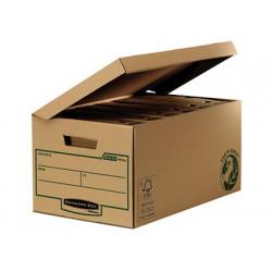 Cajon fellowes carton reciclado para almacenamiento de archivadores capacid