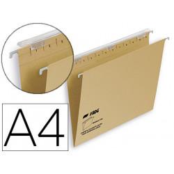 Carpeta colgante fade tiki din a4 visor superior 290 mm efecto lupa kraft e