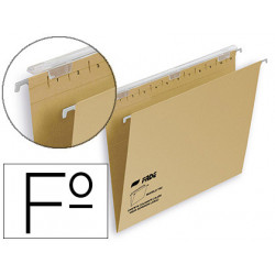 Carpeta colgante fade tiki folio visor superior 290 mm efecto lupa kraft ec