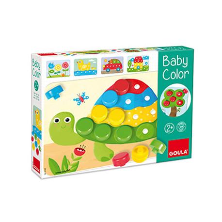 Juego goula didactico baby color