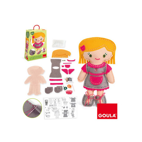 Juego goula didactico muñeca bibi
