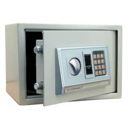 Caja de seguridad qconnect electronica clave digital capacidad 10l con acc