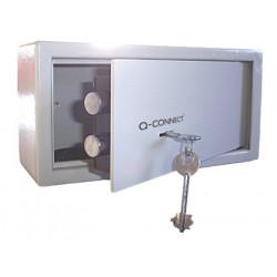 Caja de seguridad qconnect doble pasador capacidad 6l conaccesorios fijaci