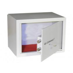 Caja de seguridad qconnect doble pasador capacidad 10l con accesorios fija