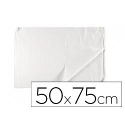 Papel seda liderpapel blanco 17g/m2 rollo de 24 hojas 50x75cm