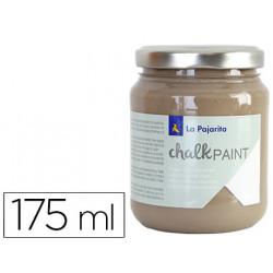 Pintura acrilica la pajarita efecto tiza chalk paint cp25 marron eiffel 17