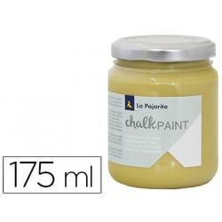 Pintura acrilica la pajarita efecto tiza chalk paint cp32 dijon 175 ml