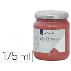 Pintura acrilica la pajarita efecto tiza chalk paint cp33 marsala 175 ml