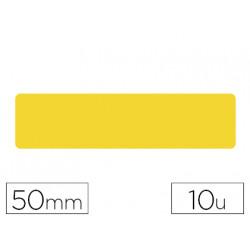 Simbolo adhesivo tarifold pvc tira longitudinal delimitacion suelo 50 mm am