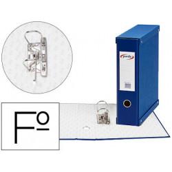 Modulo pardo 1 archivador de palanca folio 2 anillas 70 mm azul 350x100x290