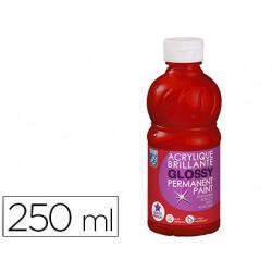 Pintura acrilica l&b brillo rojo primario bote de 250 ml