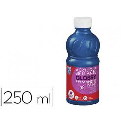 Pintura acrilica l&b brillo azul primario bote de 250 ml