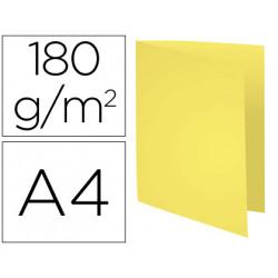 Subcarpeta cartulina reciclada exacompta din a4 amarillo 170 gr
