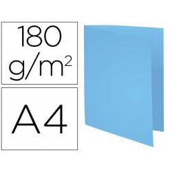 Subcarpeta cartulina reciclada exacompta din a4 azul 170 gr