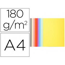 Subcarpeta cartulina reciclada exacompta din a4 10 colores surtidos 170 gr