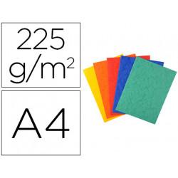 Subcarpeta cartulina lustrada exacompta din a4 paquete de 25 unidades color