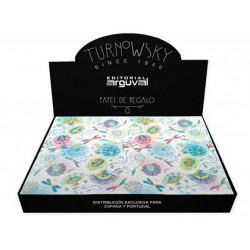 Papel regalo arguval todo año turnowsky 50x70 cm caja de 100 unidades