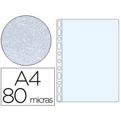 Funda multitaladro qconnect din a4 80 mc piel de naranja caja de 100 unida