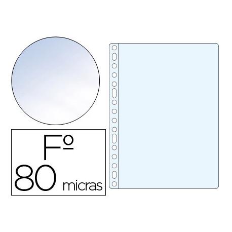 Funda multitaladro qconnect folio 80 mc cristal caja de 100 unidades