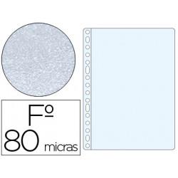 Funda multitaladro qconnect folio 80 mc piel de naranja caja de 100 unidad