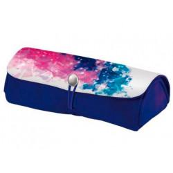 Bolso portatodo herlitz color splash rosa 21x95x65 cm