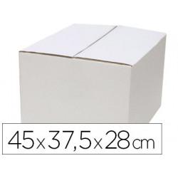 Caja para embalar qconnect blanca regulable en altura doble canal 450x280
