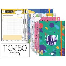 Agenda escolar liderpapel 1819 classic mini tetraling e un dia pagina espi