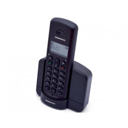 Telefono daewoo inalambrico dtd1350b pantalla retroiluminada identificacio