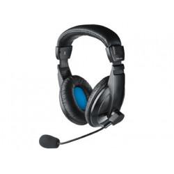 Auricular trust quasar headset con microfono incorporado longitud cable 18
