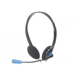 Auricular ngs headset ms103 con microfono y control volumen color negro